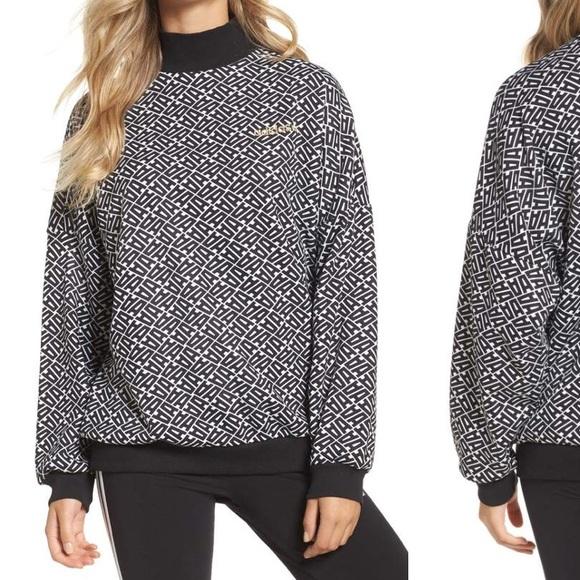 adidas originals Damen Pullover AOP in weiß 360314 | BR9251